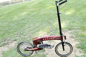 立って乗る画期的自転車