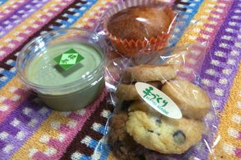 手作りお菓子と地域通貨